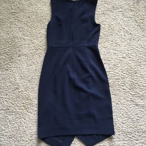 J. Crew Dresses - NWOT J. Crew Asymmetrical Sheath Dress 0P Navy